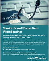 Senior Fraud Protection: Free Seminar
