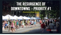 The Resurgence of Downtowns Webinar and Community Discussion