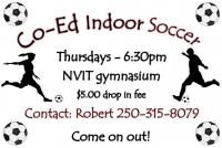 Co-Ed Indoor Soccer