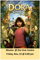 City Movie Night- Dora and the Lost City of Gold