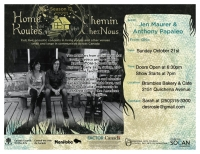 Jen Maurer and Anthony Papaleo Home Routes Concert