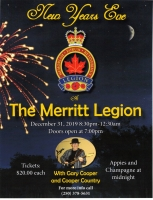 New Year's Eve at the Royal Canadian Legion