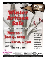 Winter Artisan Sale at the Courthouse Art Gallery